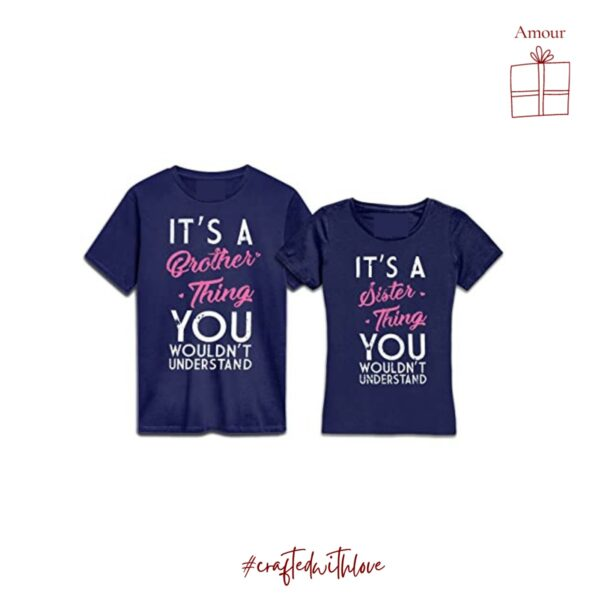 It's a brother - sister thing - Rakhi Collection T-shirts Unisex